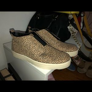Leopard print sneakers from Target